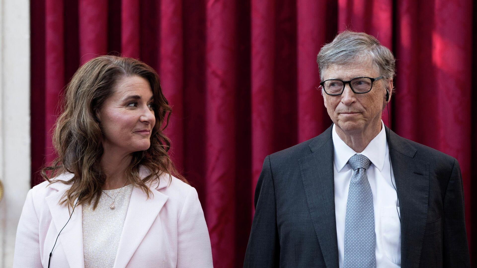 Билл Гейтс с супругой Мелиндой - РИА Новости, 1920, 05.05.2021