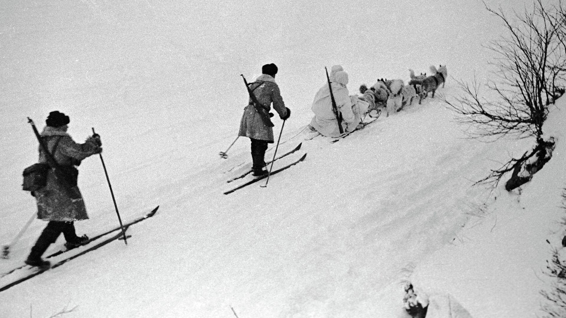 Северный фронт. В разведку - РИА Новости, 1920, 07.05.2021