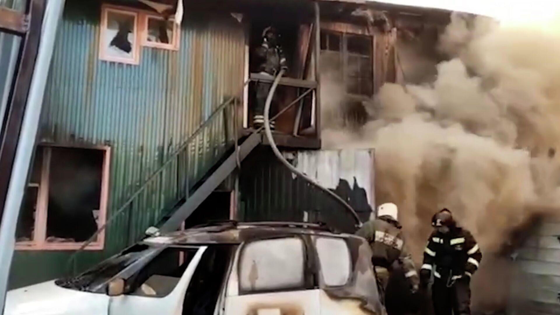 В Крыму ликвидировали пожар в жилом доме