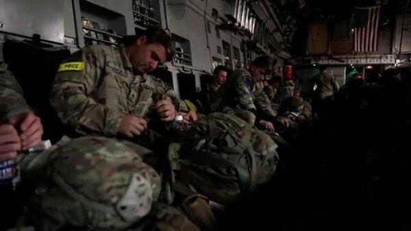 Ночная высадка десанта НАТО в Эстонии