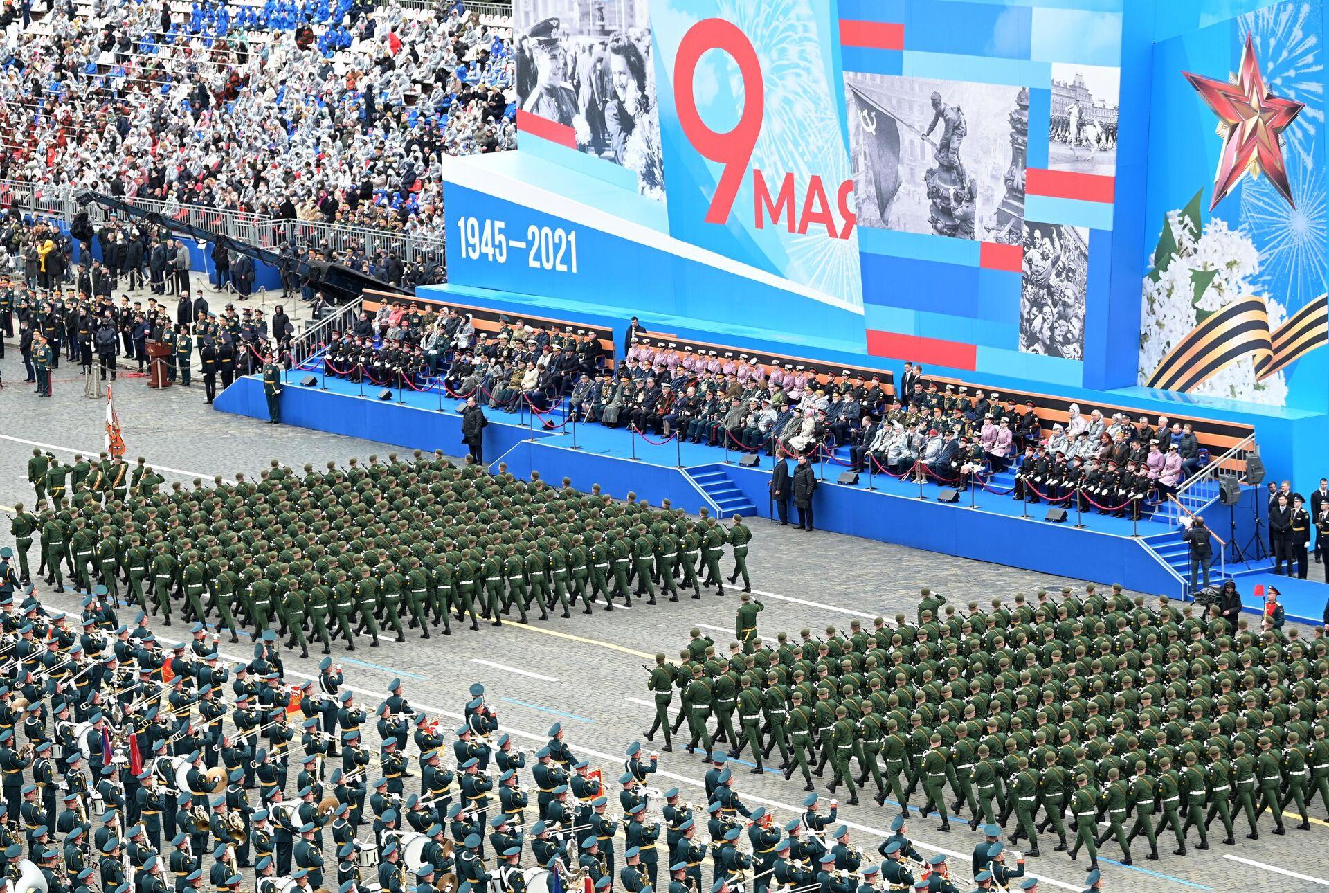 Военный парад в честь 76-й годовщины Победы - РИА Новости, 1920, 09.05.2021