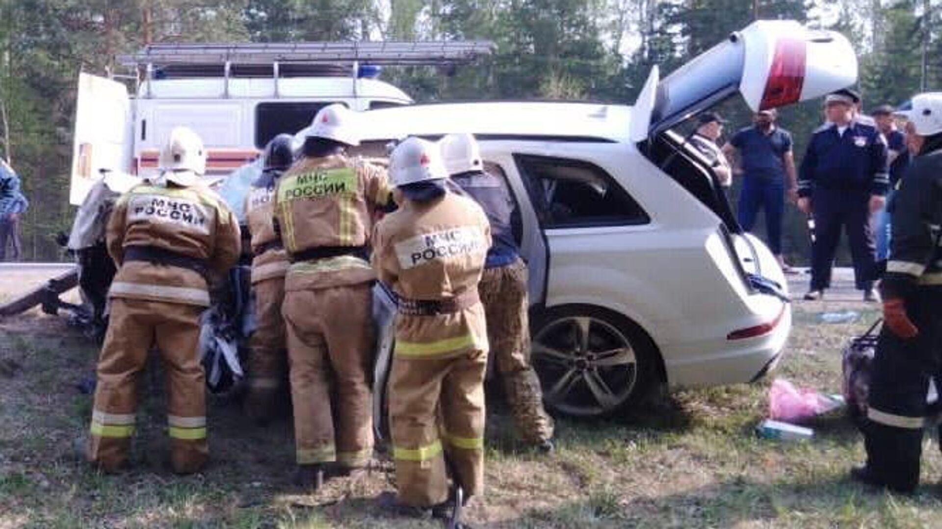 В Рязанской области четыре человека погибли в ДТП