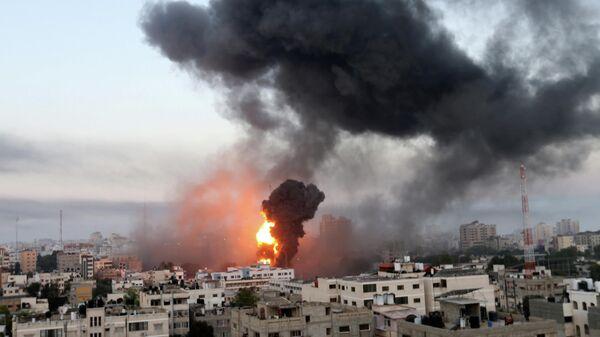 Израильские воздушные удары в Газе