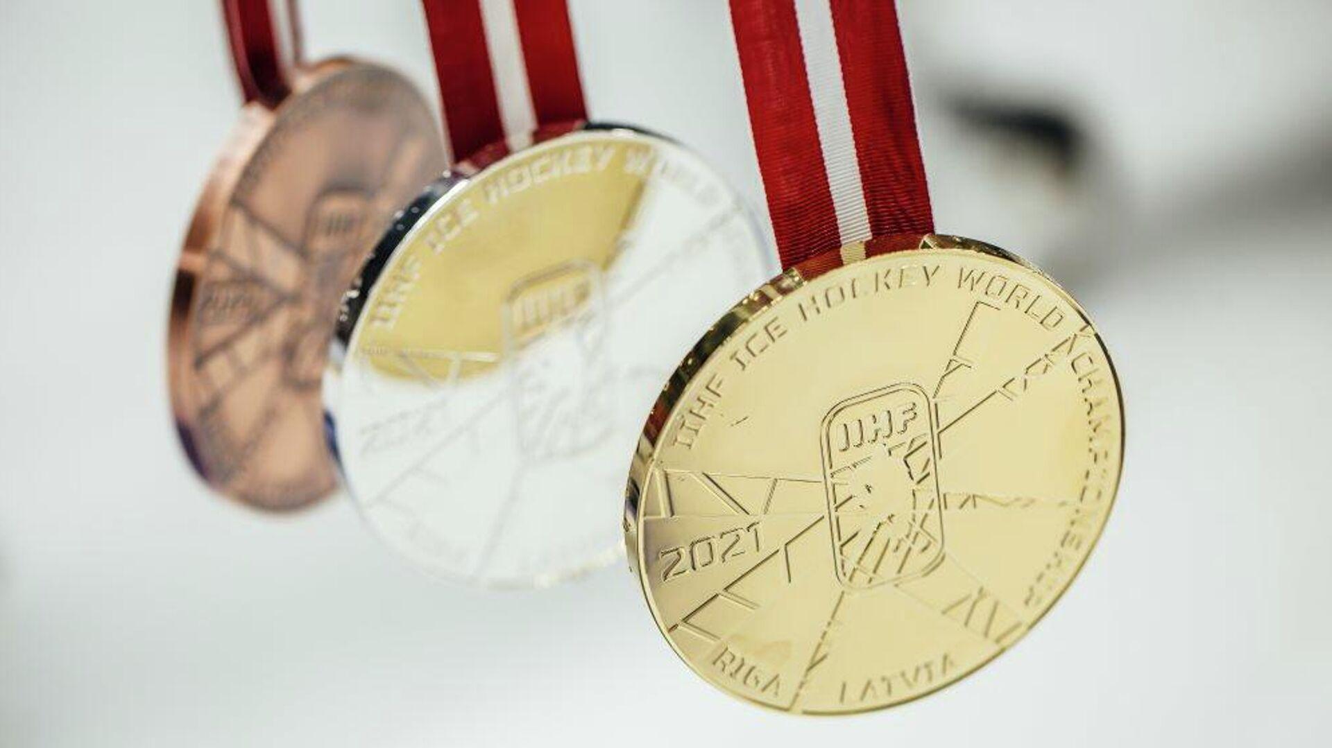 Медали чемпионата мира по хоккею - РИА Новости, 1920, 25.05.2021