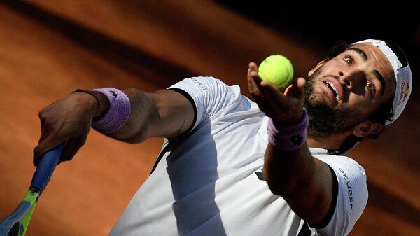 теннисист Маттео Берреттини (Италия)