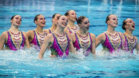 Синхронное плавание. Чемпионат Европы. Группа. Техническая программа