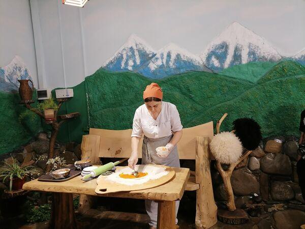 Мастер-класс по приготоволению чепалгаша в Чечне