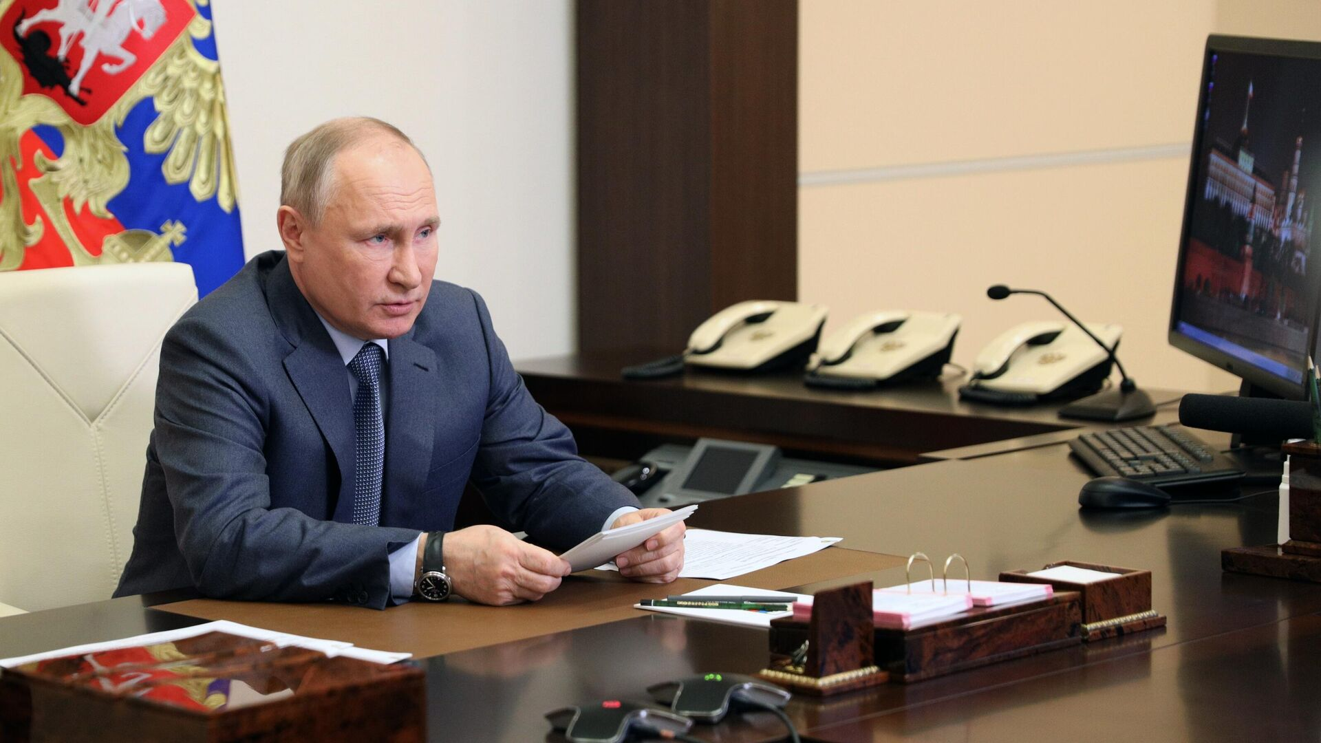 Президент РФ Владимир Путин - РИА Новости, 1920, 14.05.2021