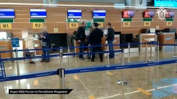 Кадры задержания Алексея Меркушкина при попытке покинуть страну