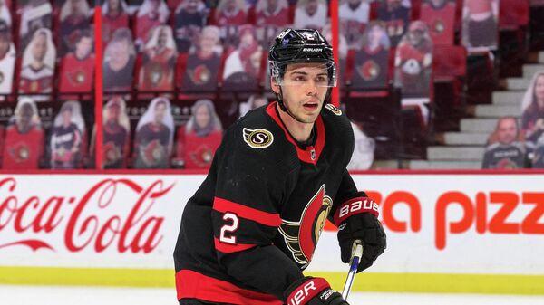 Защитник клуба НХЛ Оттава Сенаторз Артем Зуб