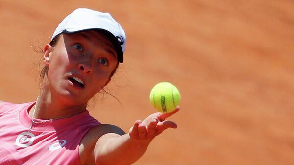 Польская теннисистка Ига Швентек