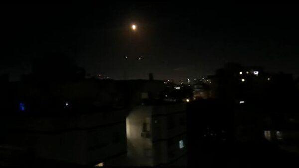 Перехват ракет в 10 км к востоку от Тель-Авива