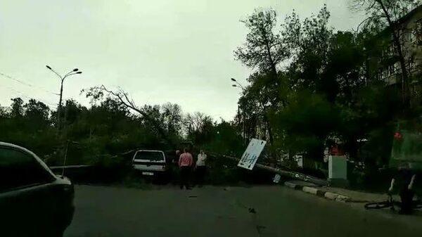 Последствия урагана в Нижегородской области