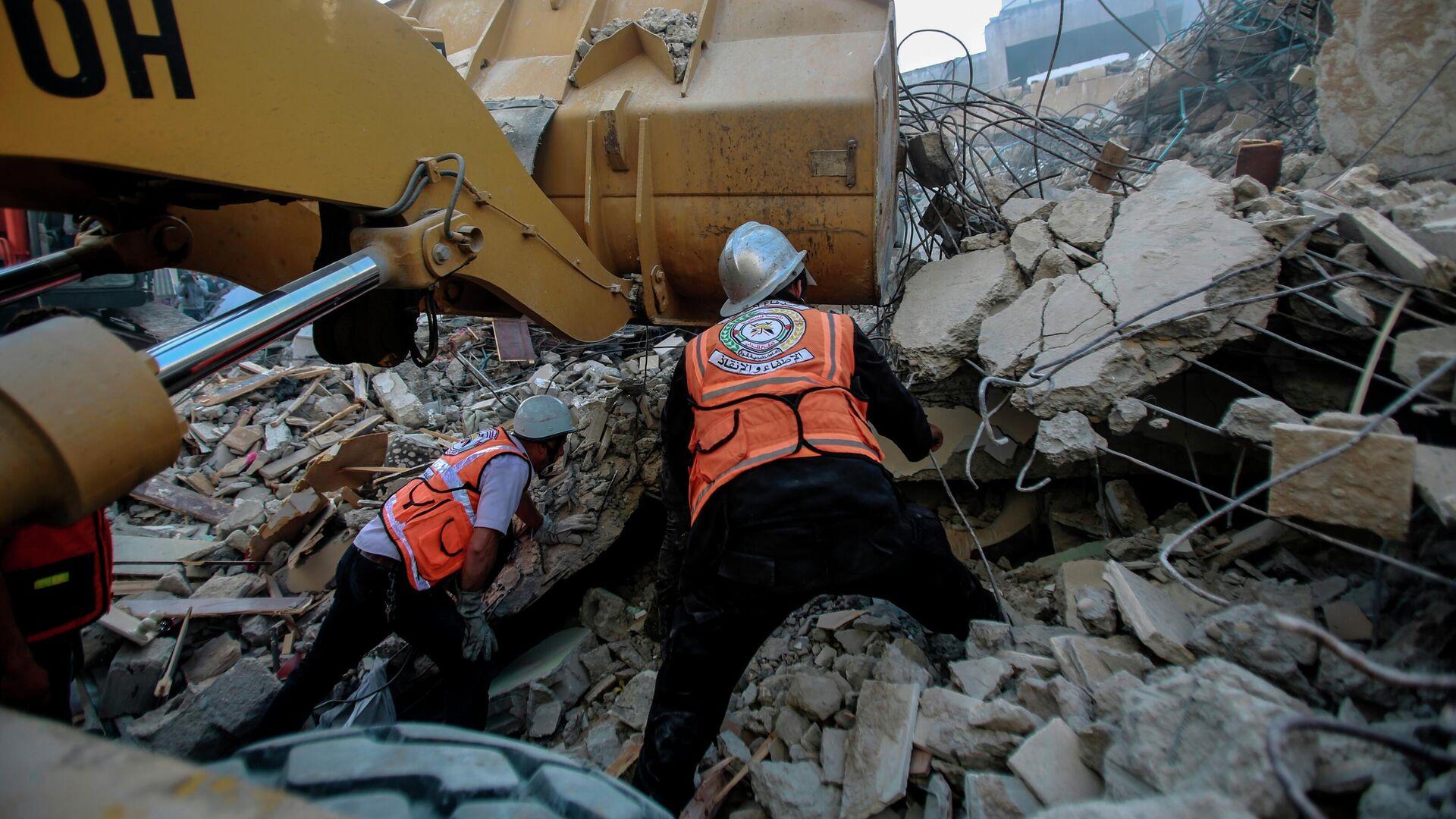 При обрушении трибуны синагоги в Израиле пострадали десятки человек