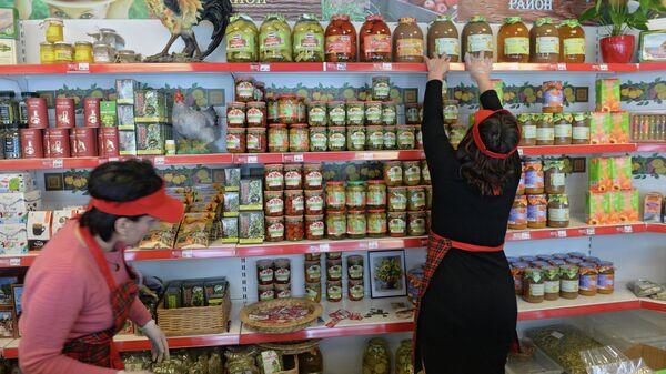 Продуктовый магазин в Подмосковье