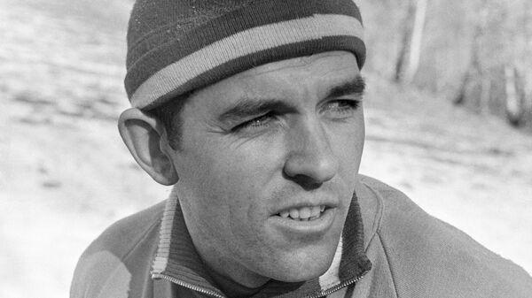 Тренер сборной команды СССР по биатлону Александр Васильевич Привалов.