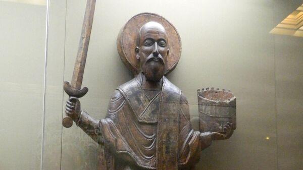 Никола Можайский. XIV век. Государственная Третьяковская галерея