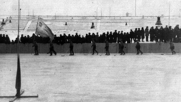 Хоккейная команда Химик, Электросталь. 1952