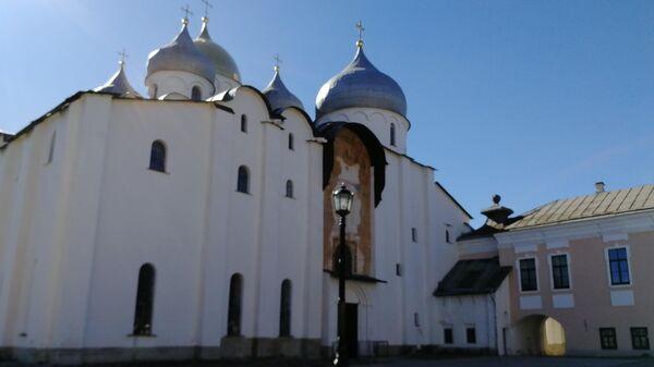 Великий Новгород. Вид на Софийский собор
