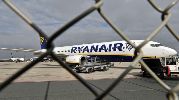 Самолет авиакомпании Ryanair