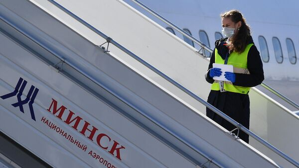 Сотрудник национального аэропорта Минск