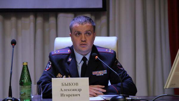 Полковник полиции Александр Быков