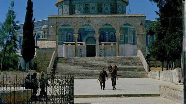 Израильские солдаты на Храмовой горе. 1967 год
