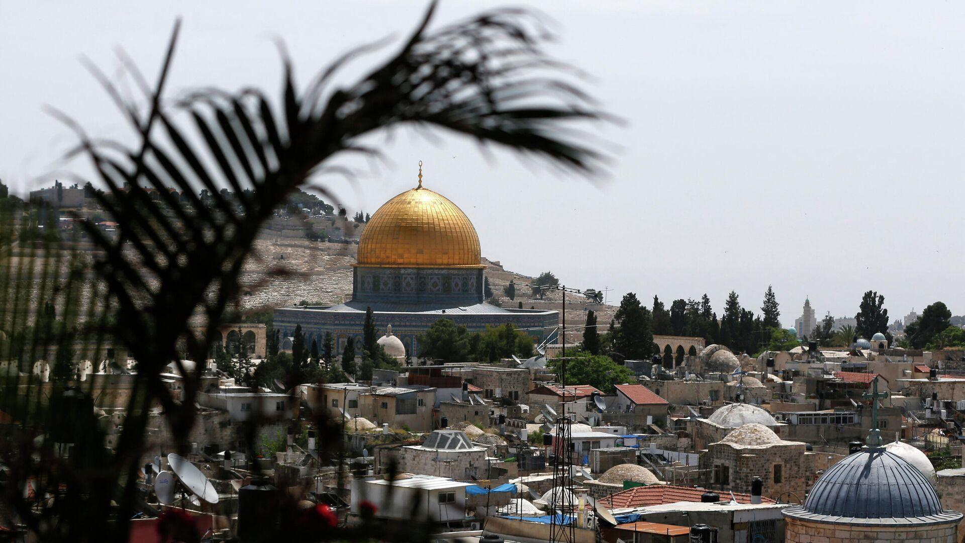 Мечеть Купол Скалы на Храмовой горе в Иерусалиме - РИА Новости, 1920, 15.07.2021