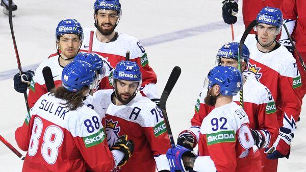 Хоккей. Чемпионат мира . Матч Чехия - Белоруссия