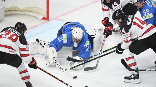 Хоккей. Чемпионат мира Матч Казахстан - Канада