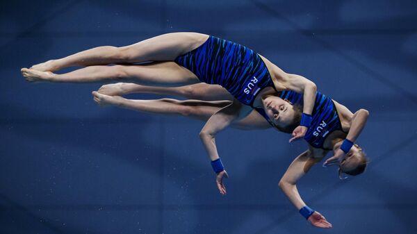 Екатерина Беляева и Юлия Тимошинина (Россия)