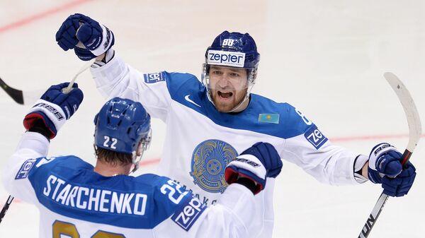 Хоккей. Чемпионат мира. Матч Швейцария - Казахстан