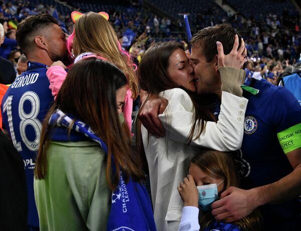 Футболисты Челси с семьями