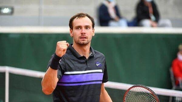 Российский теннисист Роман Сафиуллин