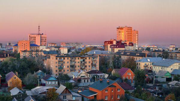 Вид на Оренбург