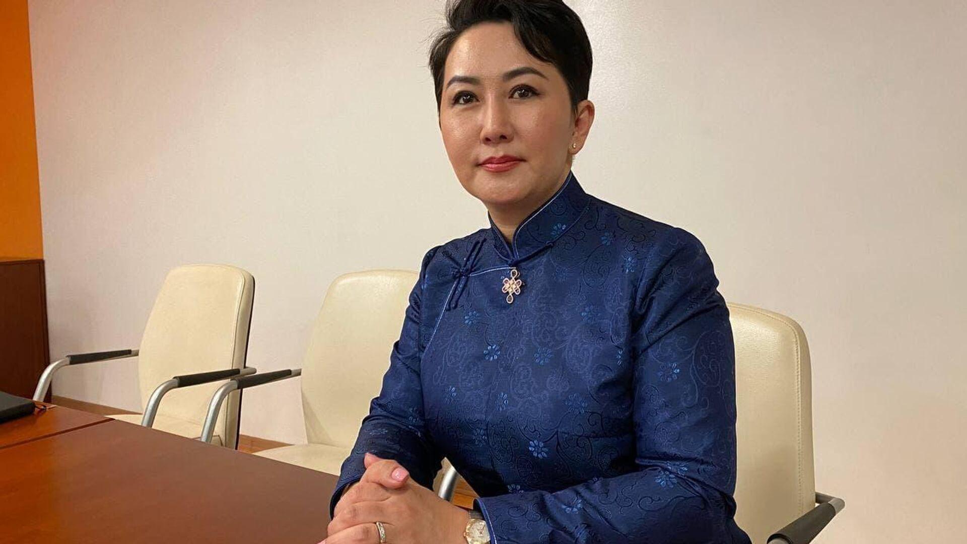 Глава МИД Монголии Батцэцэг Батмунхийн - РИА Новости, 1920, 01.06.2021