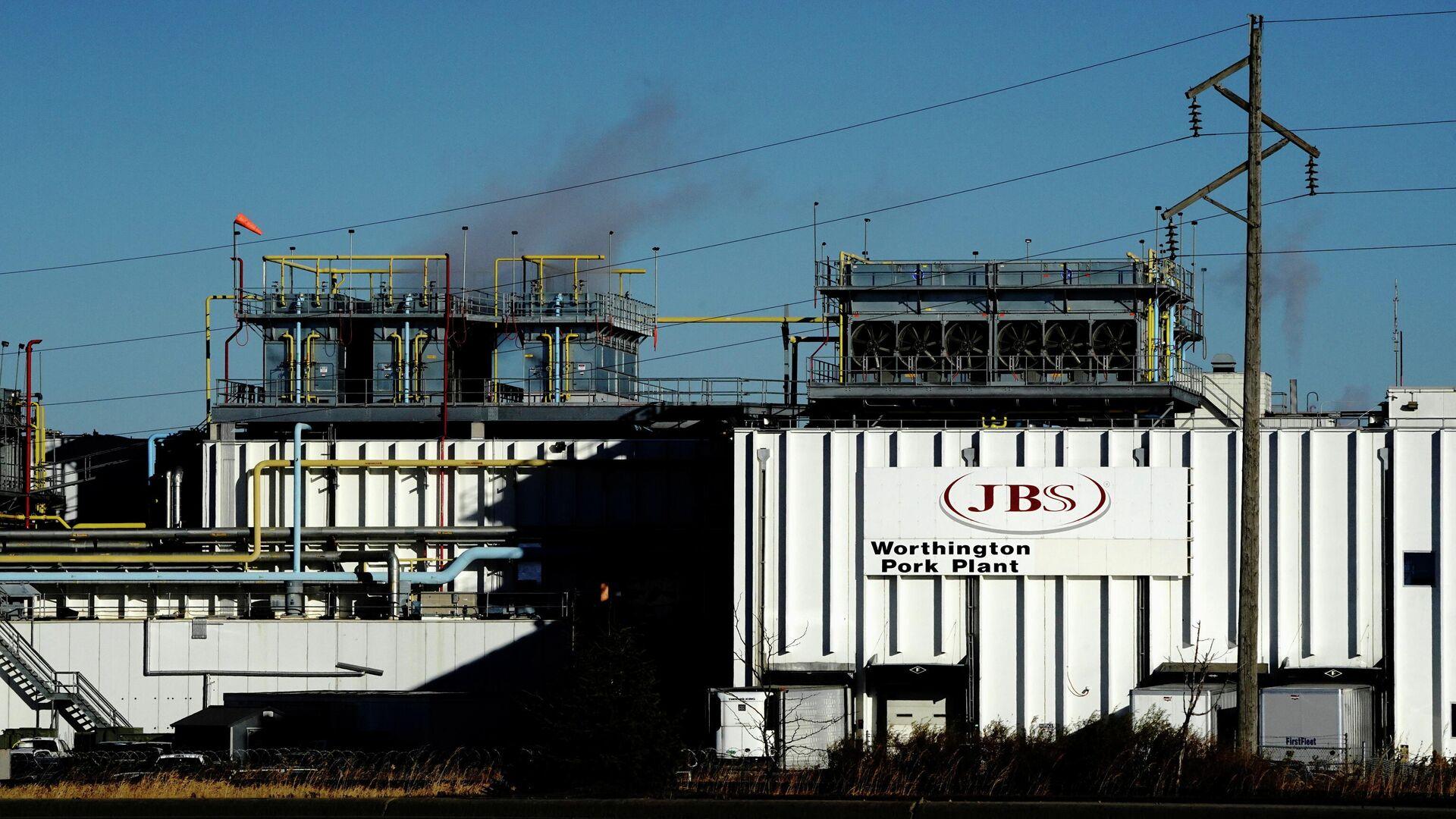 Завод компании JBS в в Миннесоте, США - РИА Новости, 1920, 02.06.2021