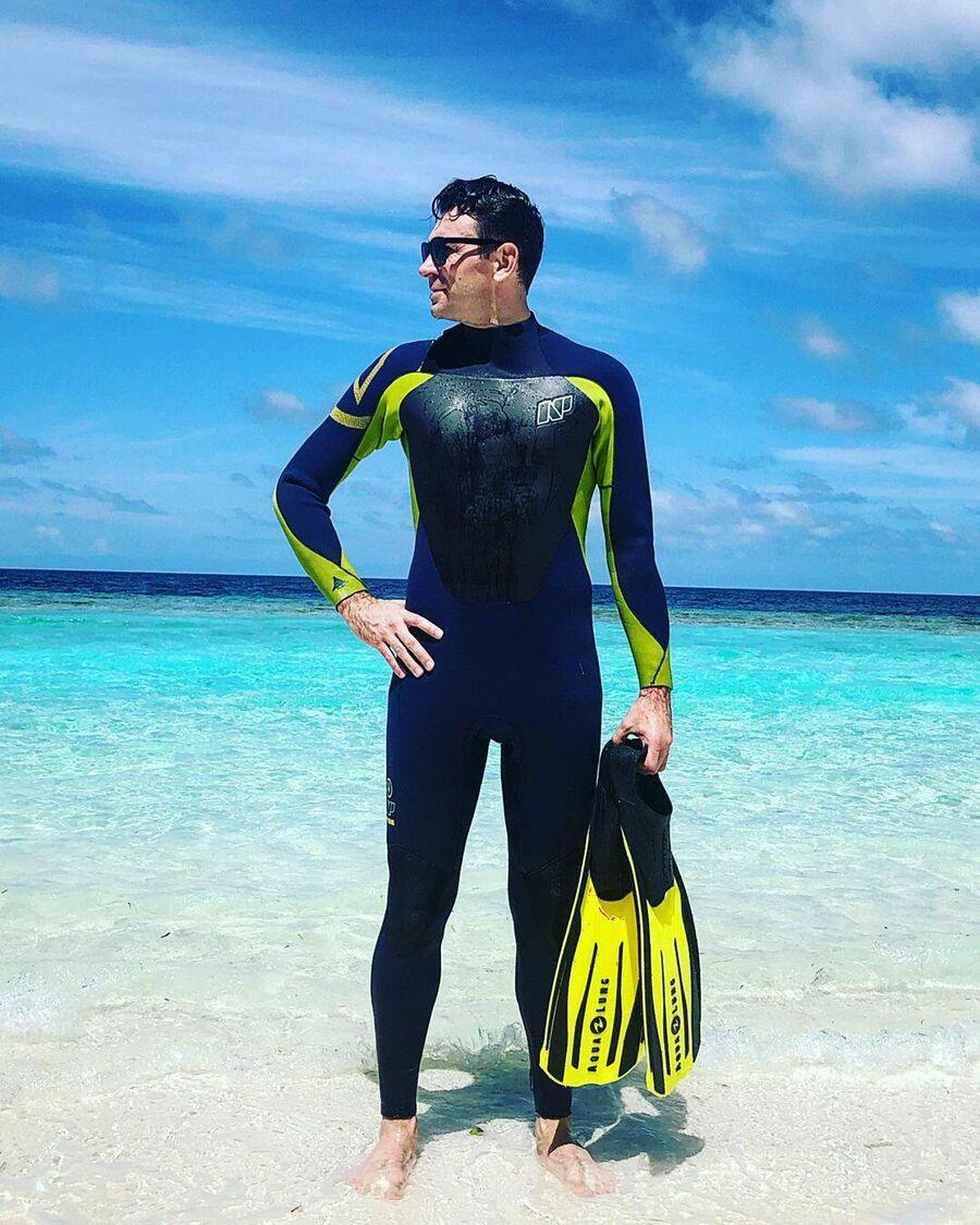 Антон Хабаров на Мальдивах