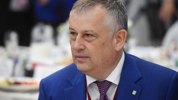 Губернатор Ленинградской области - председатель правительства Ленинградской области Александр Дрозденко