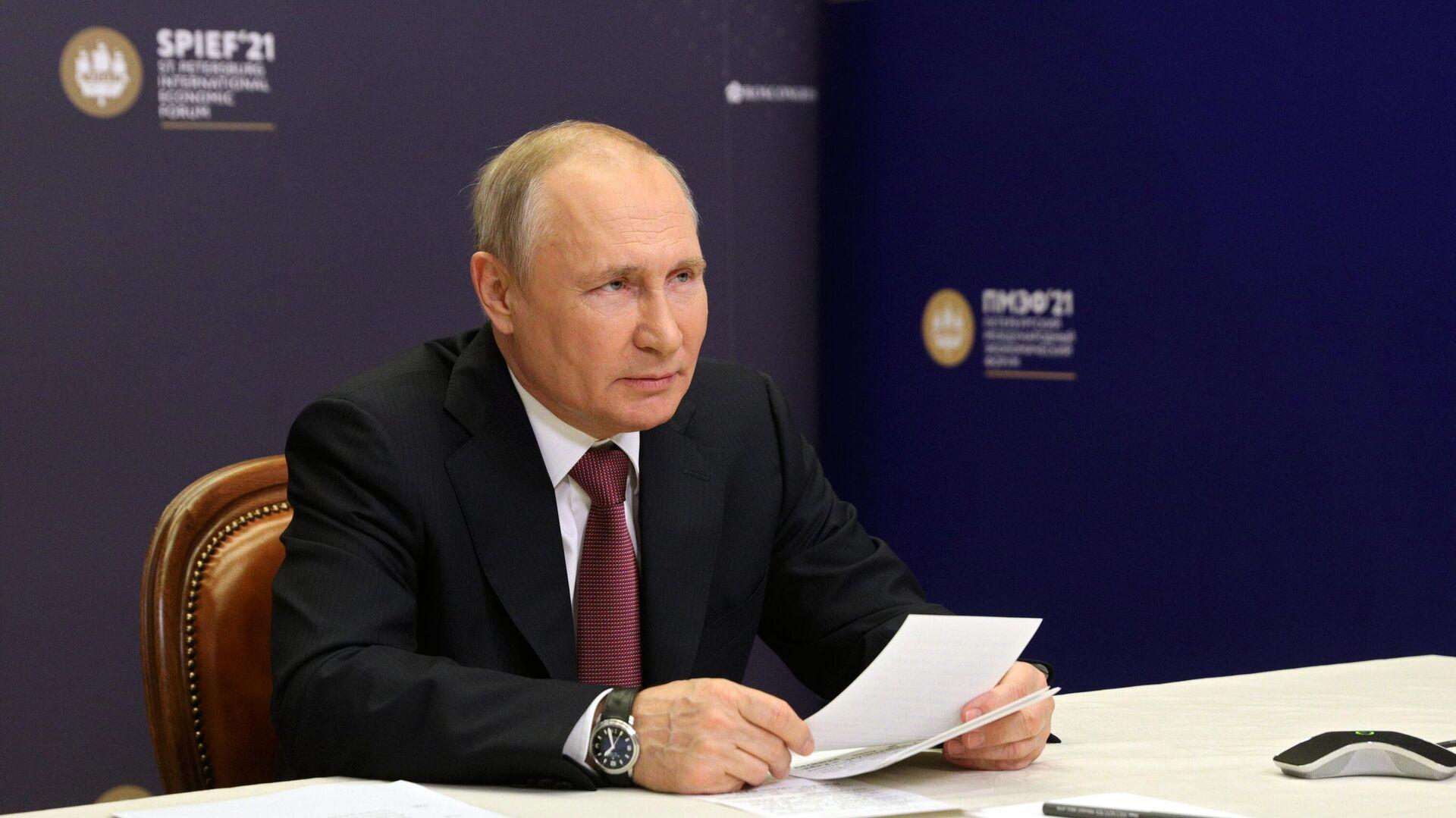 Путин не согласился с мнением о притеснении оппозиции и СМИ