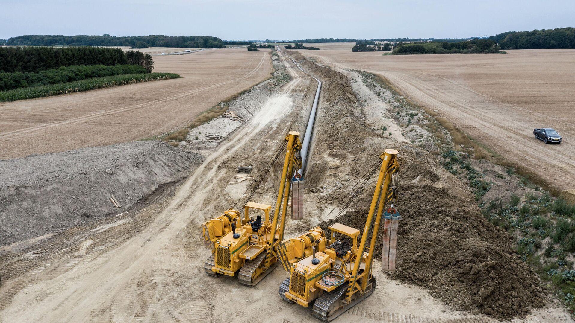 Подготовка к строительству газопровода Baltic Pipe - РИА Новости, 1920, 28.06.2021