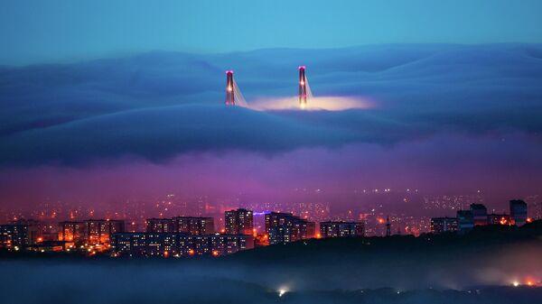 Работа фотографа Юрия Смитюка Волшебный туман, победившая в номинации Пейзаж в фотоконкурсе  РГО Самая красивая страна