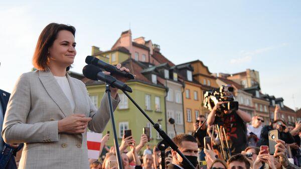 Лидер белорусской оппозиции, экс-кандидат в президенты Белоруссии Светлана Тихановская