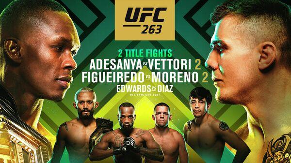Постер UFC 263