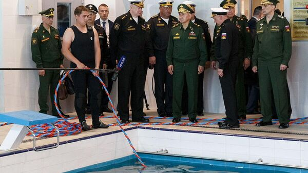 Рабочая поездка министра обороны РФ Сергея Шойгу в Южный военный округ