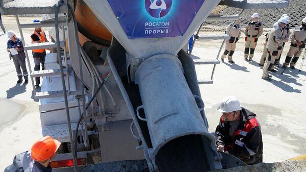 Строительство новейшего атомного реактора на быстрых нейтронах БРЕСТ-ОД-300 в Северске