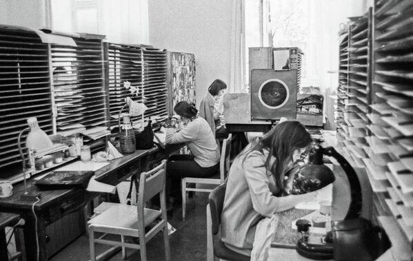 Цех студии Союзмультфильм