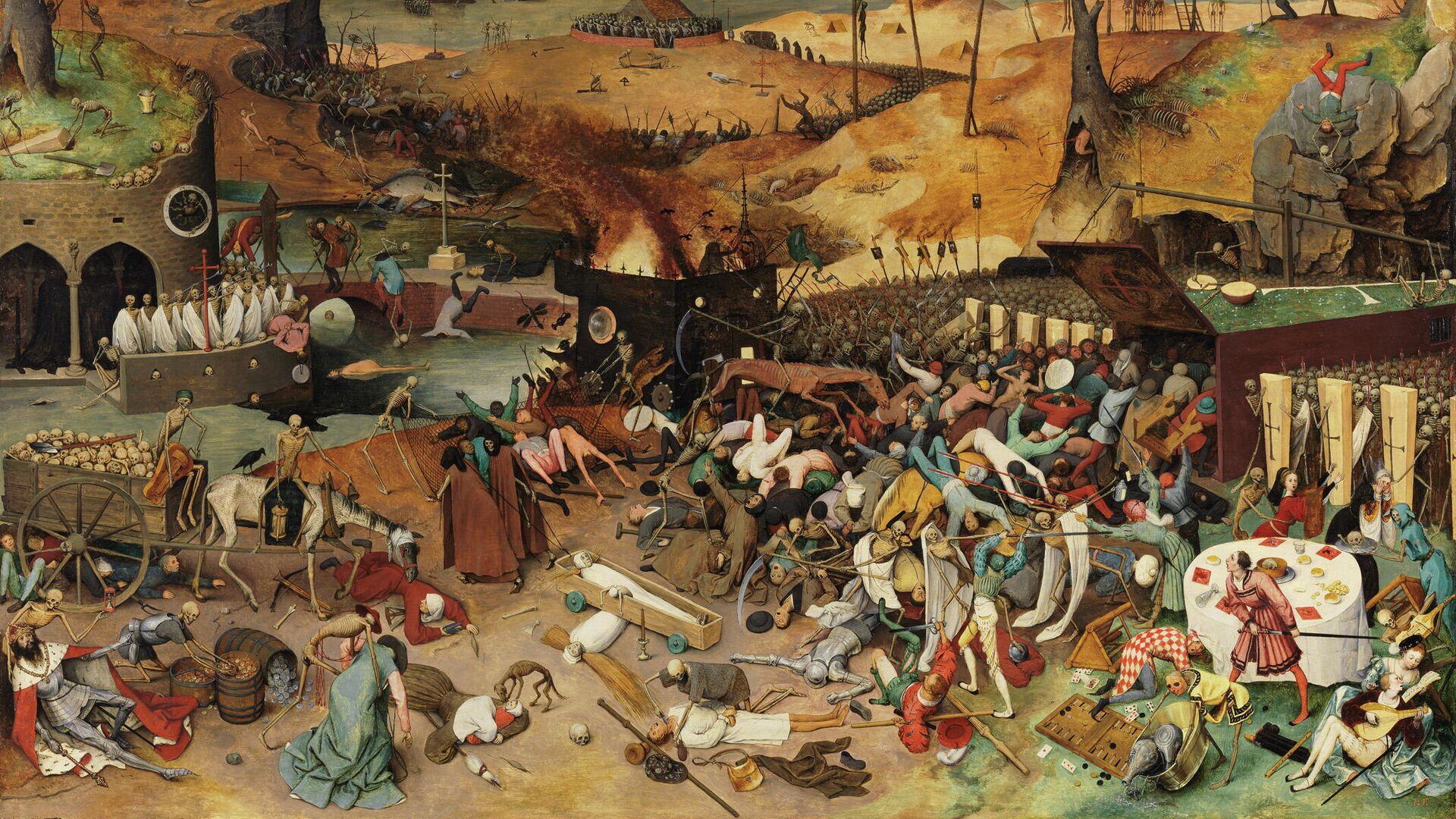 """Черная смерть, или """"рукотворная"""" чума Средневековья"""