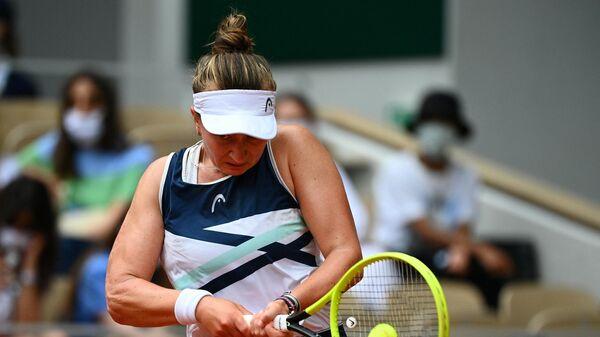 Теннисистка Барбора Крейчикова (Россия)