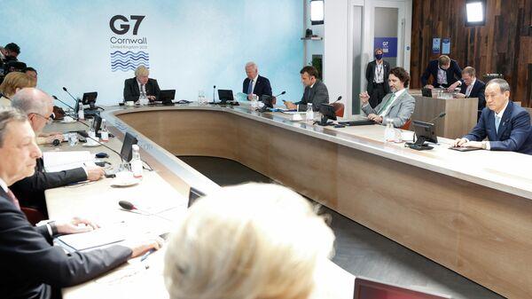 Саммит G7 в Великобритании